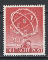 Germania Berlino 1950 Unif. 57 **/MNH VF/F - Ungebraucht