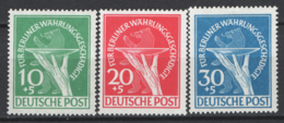 Germania Berlino 1949 Unif. 54/56 */MH VF /F - [5] Berlino