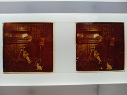 Stéréo Sur Verre Plaque De Verre - Glass Slides