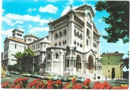 LA PRINCIPAUTE DE MONACO - MONACO - LA CATHEDRALE - Timbre Monaco 1.10 - 1980 - Voitures Anciennes - Autres