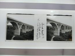 Stéréo Sur Verre Plaque De Verre  St Florent Sur Cher Madue Sur Le Cher Longens 475m - Glasplaten