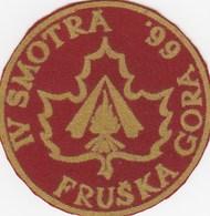 Vintage Patch IV Scout Jamboree Meeting FRUSKA GORA 1966. Yugoslavia Scouting Scou - Scoutisme