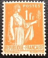N° 286  NEUF ** SANS CHARNIÈRE ( LOT:133 ) - 1932-39 Peace