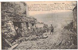 MILITARIA GUERRE 14/18 CARENCY : La Kommandatur Allemande Rue De La Gare Dans L'Ancienne Abbaye En 1916 - Guerre 1914-18