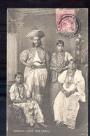 Sri Lanka Ceylon - Kandian Chief And Family - 1909 - Sri Lanka (Ceylon)