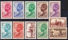 Côte D'Ivoire 1936-1942 Lot 5, Timbres Courants Neufs Sans Charnière MNH **, Je Vends Ma Collection! - Ungebraucht