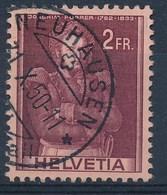 "HELVETIA - Mi Nr 385 - Cachet  ""NEUHAUSEN"" - (ref. 1044) - Gebruikt"