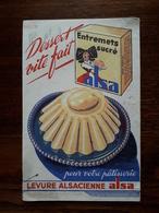 L18/112 Buvard. Levure Alsacienne Alsa - Food