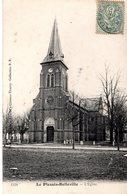Cpa 60_LE PLESSIS BELLEVILLE - L'église - Frankreich