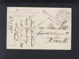 KuK Feldpost Grenzabschnittmagazin FP. 517 1916 - Briefe U. Dokumente