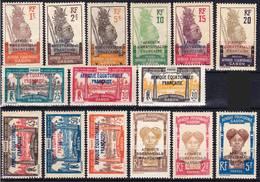 Gabon 1924-1927 Lot 5, Série Courante Neuf Sans Charnière MNH **, Je Vends Ma Collection! - Unused Stamps