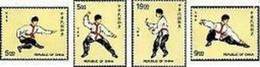 Rep China 1997 Kong Fu Stamps Wushu Kung Fu Sport Martial Art Costume - China