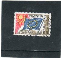 FRANCE    1,00 F    1976     Y&T: 49   Service      Belle Oblitération - Oblitérés