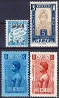 Gabon 1928-1932 Lot 10, Timbres Taxe Neuf Avec Charnière MH *, Je Vends Ma Collection! - Ongebruikt