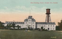 GUELPH , Ontario , Canada , 1900-10s ; O.A.C. , Main Building - Ontario