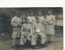 Real Photo Prisoner Camp Mouquet 39 Eme Infanterie Grafenwohr Lazaret Quarantine To Boissay Londinières 76 - Grafenwoehr
