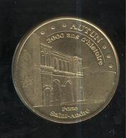 Jeton Touristique Monnaie De Paris - Autun - Porte Saint André - 2009 - Monnaie De Paris