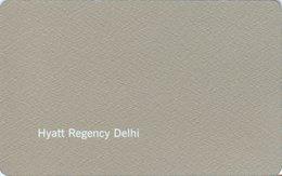 INDIA KEY HOTEL  Hyatt Regency Delhi - Cartes D'hotel