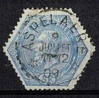MX-3020   ASPELAERE    STERSTEMPEL            TELEGRAAF UITGIFTE 1880 - 1893-1900 Thin Beard