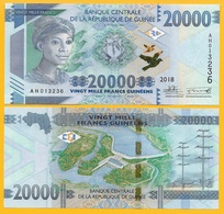 Guinea 20000 (20,000) Francs P-new 2018 (2019) UNC Banknote - Guinée