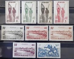 TOGO (colonie Française) - N°182-183-184-185-190-191-193-194-201 - Neuf SANS Charnière ** / MNH - Nuovi