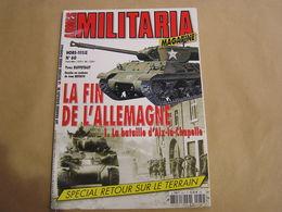 ARMES MILITARIA Magazine Hors Série N° 60 Guerre 40 45 Bataille D'Aix La Chapelle Allemagne Hürtgen Waffen SS Cologne - Guerre 1939-45