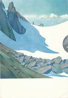 SAMIVEL - CPM N° 1102 - Affiche De La Grande Traversée Des Alpes Française, été - Neige Glacier Mont Blanc - Samivel