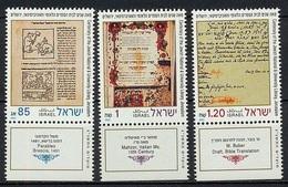 1992Israel1236-1238Martin Buber's German Bible Translation3,30 € - Israel