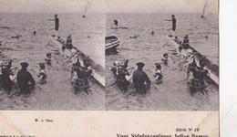 A L'EAU VUES STEREOSCOPIQUESS JULIEN DAMOY SERIE N.10 AUTENTICA 100% - Cartoline Stereoscopiche
