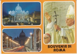 Vatican Roma Pope John Paul II UNused - Vatican
