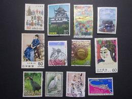 Lot 12 Timbres JAPON (9) - Japon