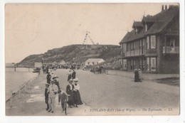 Totland Bay Isle Of Wight The Esplanade LL 7 1909 Postcard - Angleterre