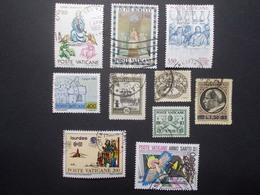 Lot 10 Timbres VATICAN (13) - Vatican