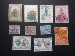 Lot 10 Timbres VATICAN (14) - Vatican