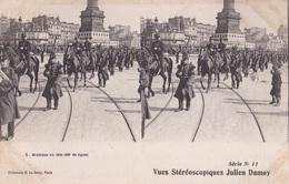 MUSIQUE EN TETE VUES STEREOSCOPIQUESS JULIEN DAMOY SERIE N.10 AUTENTICA 100% - Cartoline Stereoscopiche
