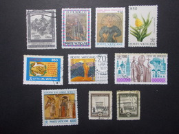 Lot 10 Timbres VATICAN (15) - Vatican