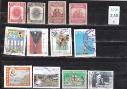 Paraguay  -  Lote  12  Sellos Diferentes   - 3/1102 - Paraguay