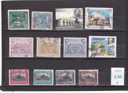 Paraguay  -  Lote  12  Sellos Diferentes   - 3/1103 - Paraguay