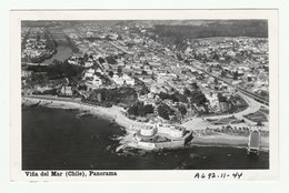 Chile - VINA DEL MAR -   Real Photo PC 1940/50s - Panorama - Chili