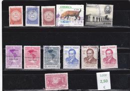 Paraguay  -  Lote  12  Sellos Diferentes   - 3/1109 - Paraguay