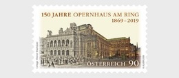 Oostenrijk / Austria - Postfris / MNH - 150 Jaar Operahuis 2019 - 1945-.... 2de Republiek