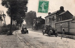 Circuit De La Presse 1907 - La Route De Paris - Saint-Jacques De Lisieux ; Le Cinquième Virage - France