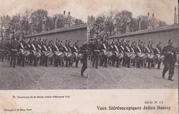 TAMBOURS DE LA GARDE VUES STEREOSCOPIQUESS JULIEN DAMOY SERIE N.11 AUTENTICA 100% - Cartoline Stereoscopiche