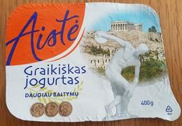 Lithuania Litauen Jogurt. - Milk Tops (Milk Lids)