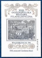 POLAND POLEN SLANIA WALBRZYCH 1999 BLOCK MI. 136 A YV. 146 POSTFRISCH MNH** - Blocks & Sheetlets & Panes