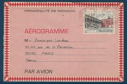 BZ-/-002-- DALLAY - AERO. N° 1, SUPERBE OBL. D'EPOQUE ( De 1972 A 1975 ) , Cote 23.00 € , TTB,  COUR DU PALAIS  PRINCIER - Postal Stationery