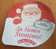 Lithuania Litauen Sour Cream - Milk Tops (Milk Lids)