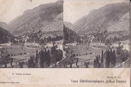 VALLE DE GADRE  VUES STEREOSCOPIQUESS JULIEN DAMOY SERIE N.11 AUTENTICA 100% - Cartoline Stereoscopiche