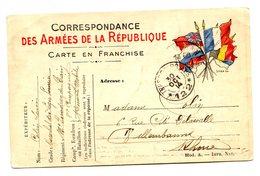 France, WWI, Première Guerre Mondiale, CPFM, 30 Octobre 1914 - BUREAU DE PAYEUR 122 - (B2185) - Guerre De 1914-18