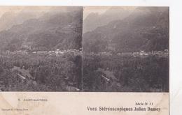SAINT SAUVEUR  VUES STEREOSCOPIQUESS JULIEN DAMOY SERIE N.11 AUTENTICA 100% - Cartoline Stereoscopiche